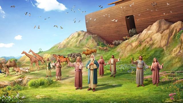 A bênção de Deus para Noé após o dilúvio