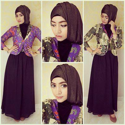 hijab pesta terbaru