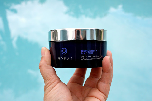 monat hair balance treatment system replenish masque