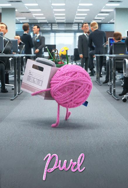 Pixar Purl Poster