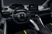 Peugeot Rifter 4x4 Concept (2018) Dashboard