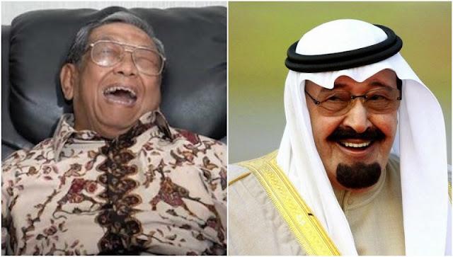 Hanya Gus Dur yang Mampu Membuat Ngakak Raja Arab SSaudi