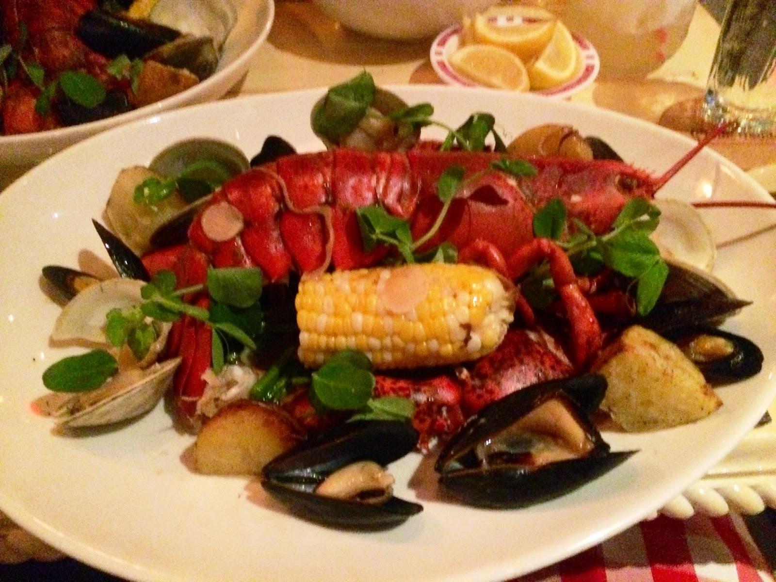 Chalk Point Kitchen, NYC, SoHo, Matt Levine, lobster, clams, seafood, dinner, restaurants, Christopher Stewart,