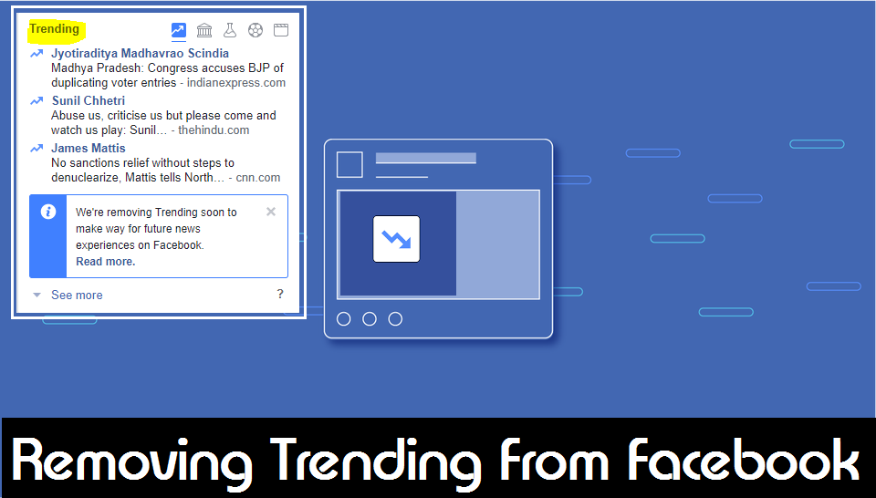 Facebook has killed the hated Trending Topics bar