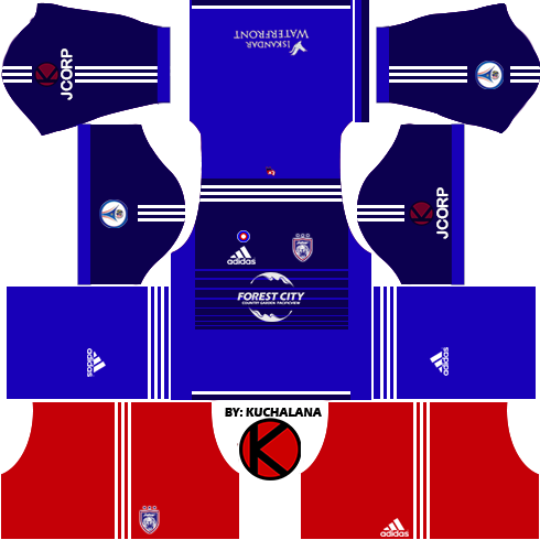 Johor Darul Takzim Kits 2016 -  Dream League Soccer 2016 & FTS15