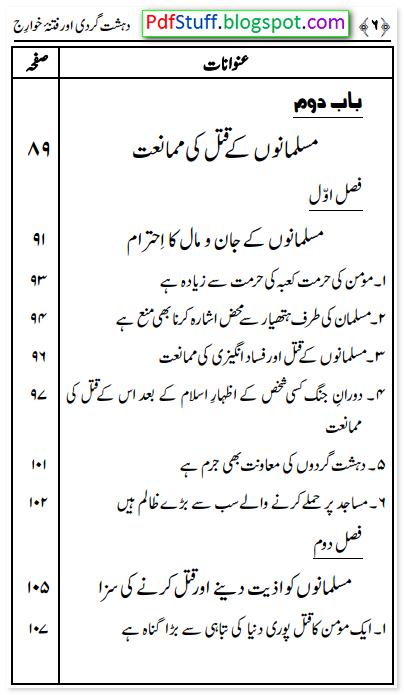 Dehshat gardi essay in urdu