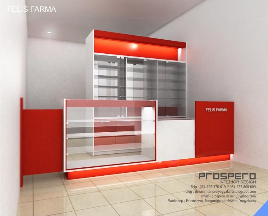 PROSPERO DESAIN INTERIOR ruang apotek
