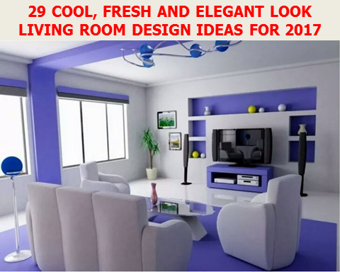 When we are planning to decorate our living room, first  we considered the cool fresh and inspiring design that's make you feel relax while taking rest in your living room. Here are 30 cool and fresh look living room design ideas to inspire you