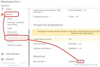 Cara Pasang Ads.txt Kustom Adsense pada Blogger