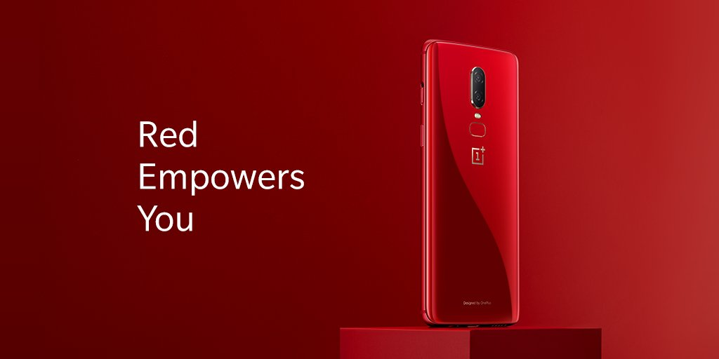 OnePlus 6 Red Edition Announced And Will Be Available On 16 July