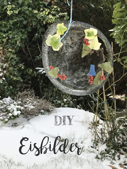 DIY Eisbilder Winter Garten Sonnenbilder Jules kleines Freudenhaus