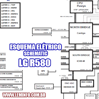 Esquema Elétrico Notebook Laptop Notebook LG R580 Manual de Serviço  Service Manual schematic Diagram Notebook Laptop LG R580    Esquematico Notebook Laptop LG R580