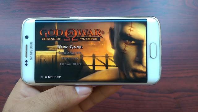 تحميل لعبة God of War على اجهزة الاندرويد