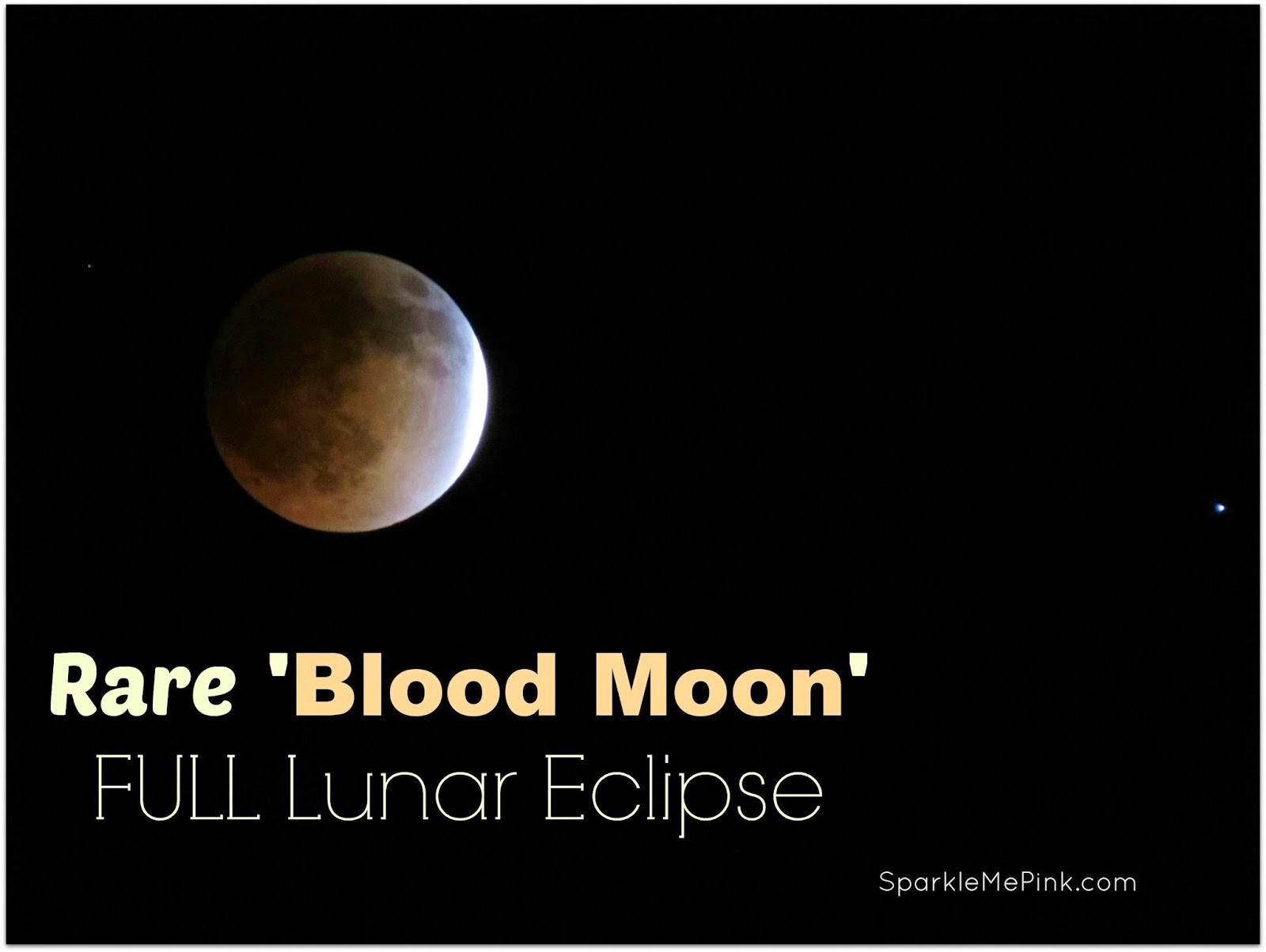 blood moon rare eclipse - photo #16