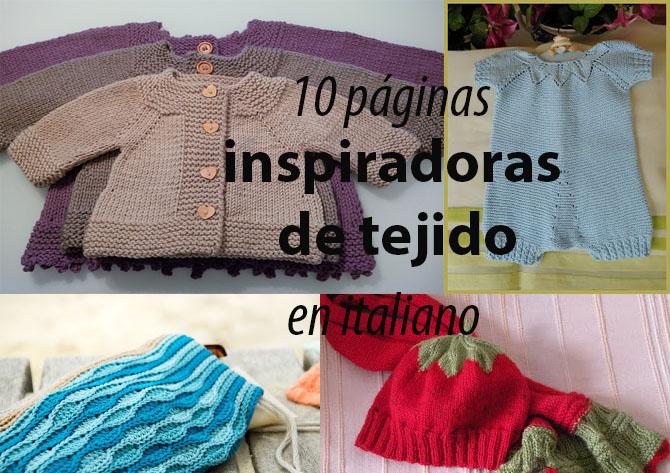 Mi espacio creativo: 10 páginas inspiradoras de tejido en italiano