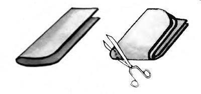 Как вырезать детали тапочек