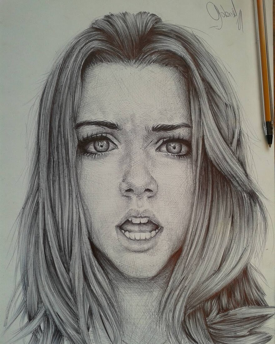 01-Incredulity-Gabriel-Vinícius-Ballpoint-Pen-Portraits-with-very-Different-Expressions-www-designstack-co