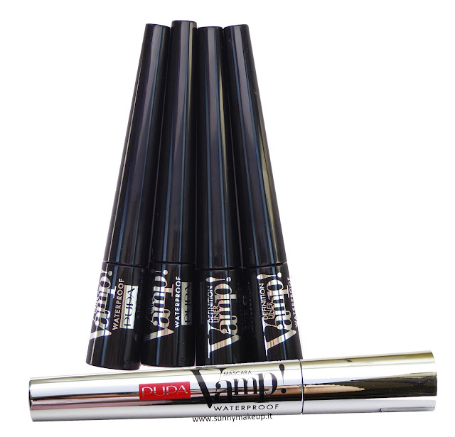 Pupa - Vamp! Definition Liner Waterproof  & Vamp! Mascara Waterproof.