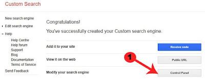 blog me google custom search engine box kaise add kare
