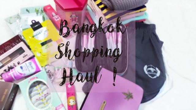 Bangkok shopping haul Thailand where to shop platinum mall