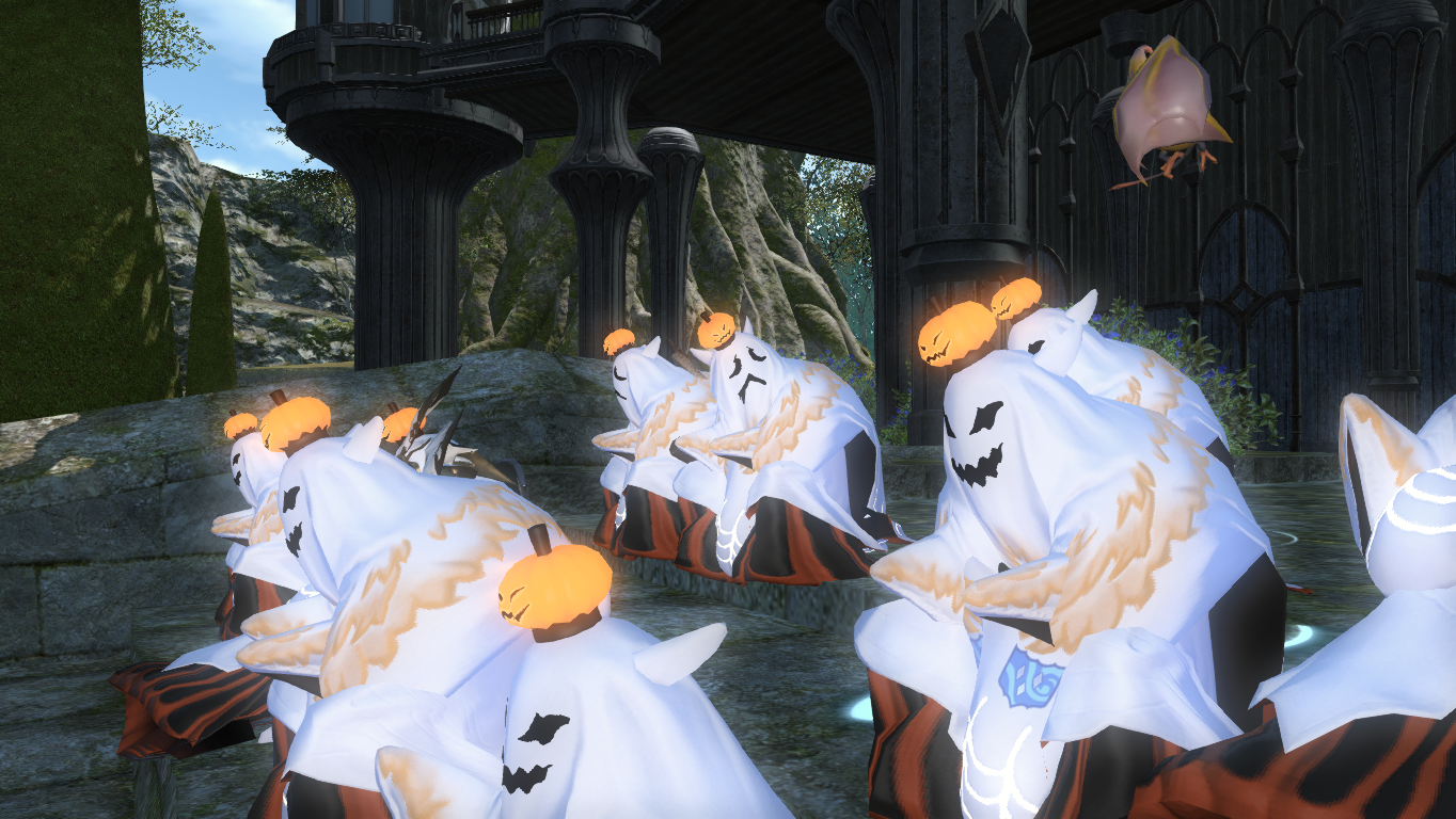FFXIV Guide] Halloween-Event with my FC | Final Fantasy XIV Guide