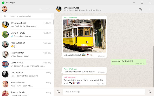Download WhatsApp Desktop for Windows and Mac