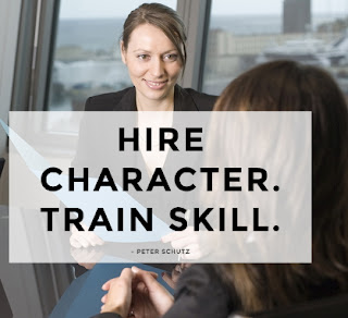 hire character train skill meaning
