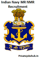 Indian Navy MR NMR Recruitment