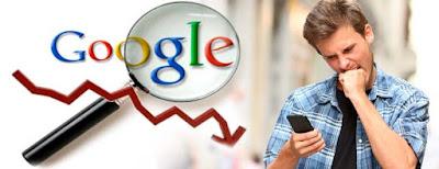 La penalización de Google y las páginas intersticiales