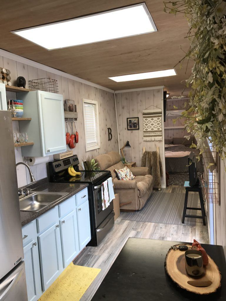 Texas Container Home 320 Sq Ft Tiny House Town