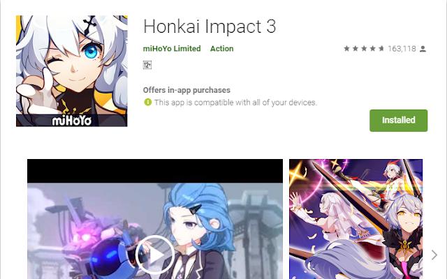 Honkai Impact 3 Versi 2.6.0 Apk Plus OBB File Tencent Gaming Buddy Emulator