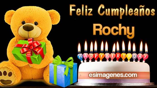 Feliz Cumpleaños Rochy
