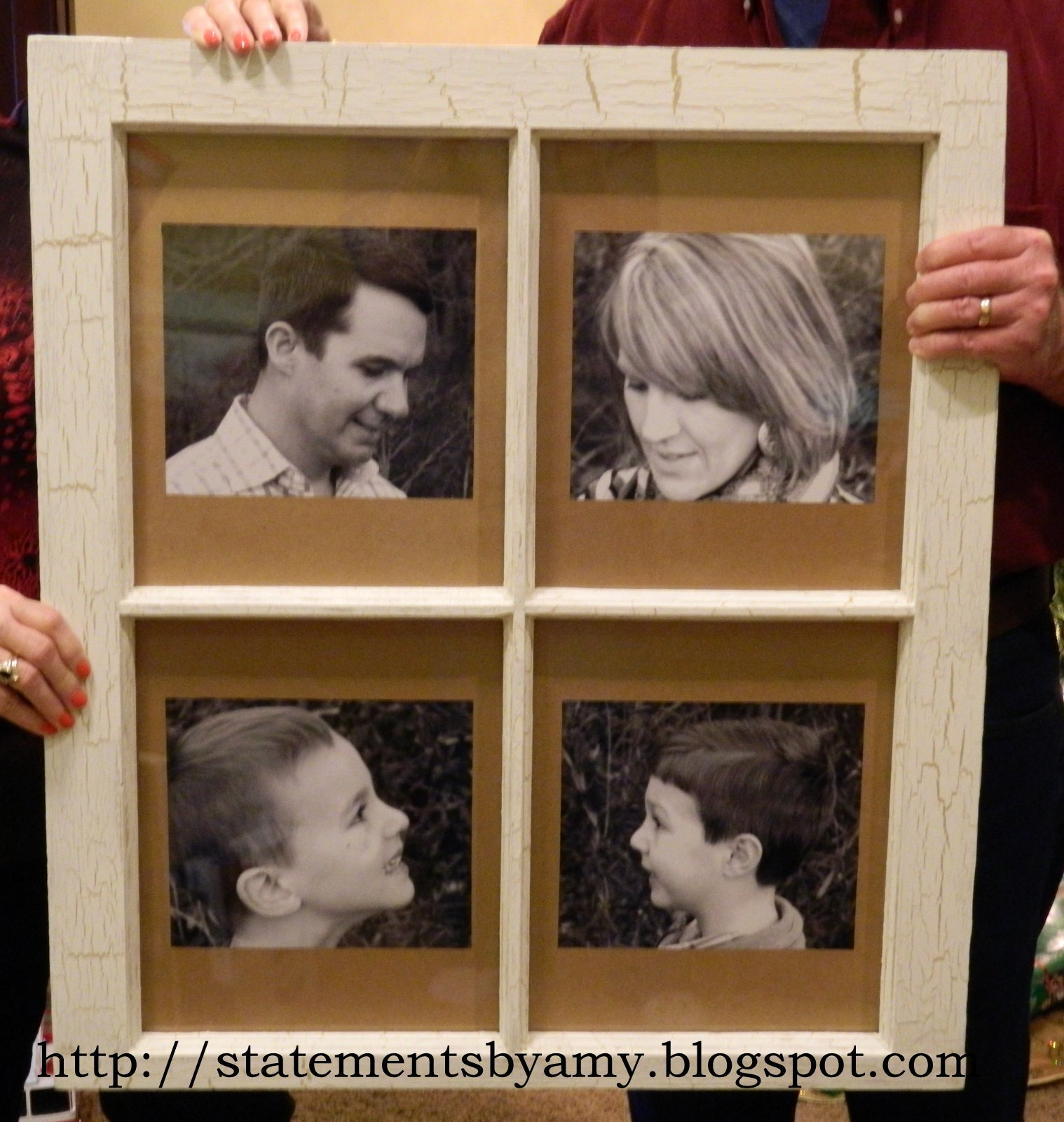 Statements: DIY Window Picture Frame