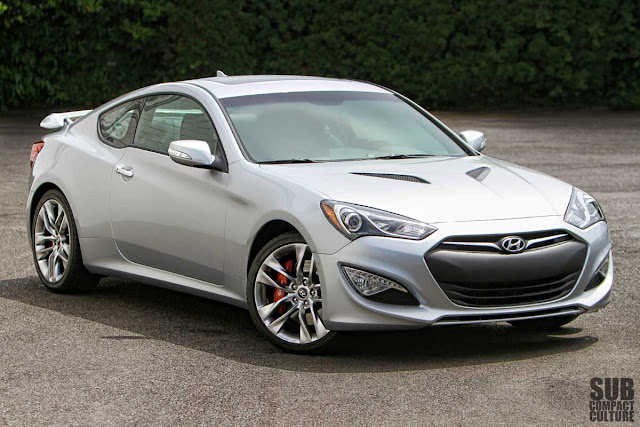review 2013 hyundai genesis coupe 3 8 track big power big fun subcompact culture the. Black Bedroom Furniture Sets. Home Design Ideas