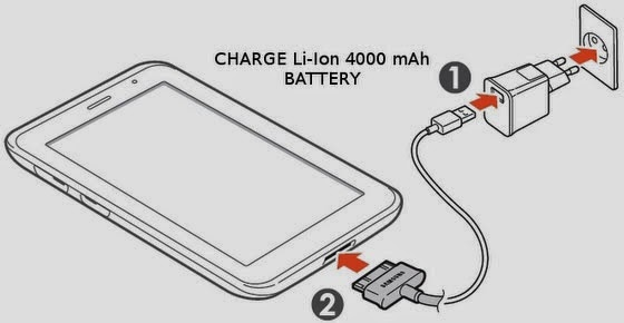 samsung galaxy tab 2 charging problem