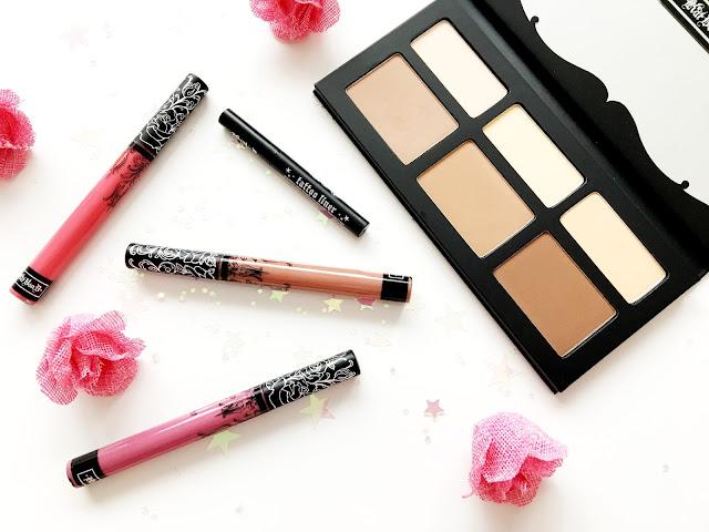Kat Von D Everlasting Liquid Lipsticks and Shade and Light Palette