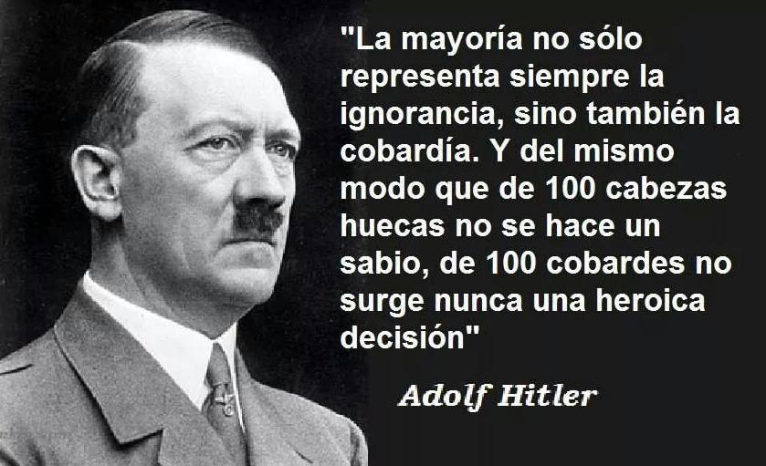Frases Celebres De Adolf Hitler