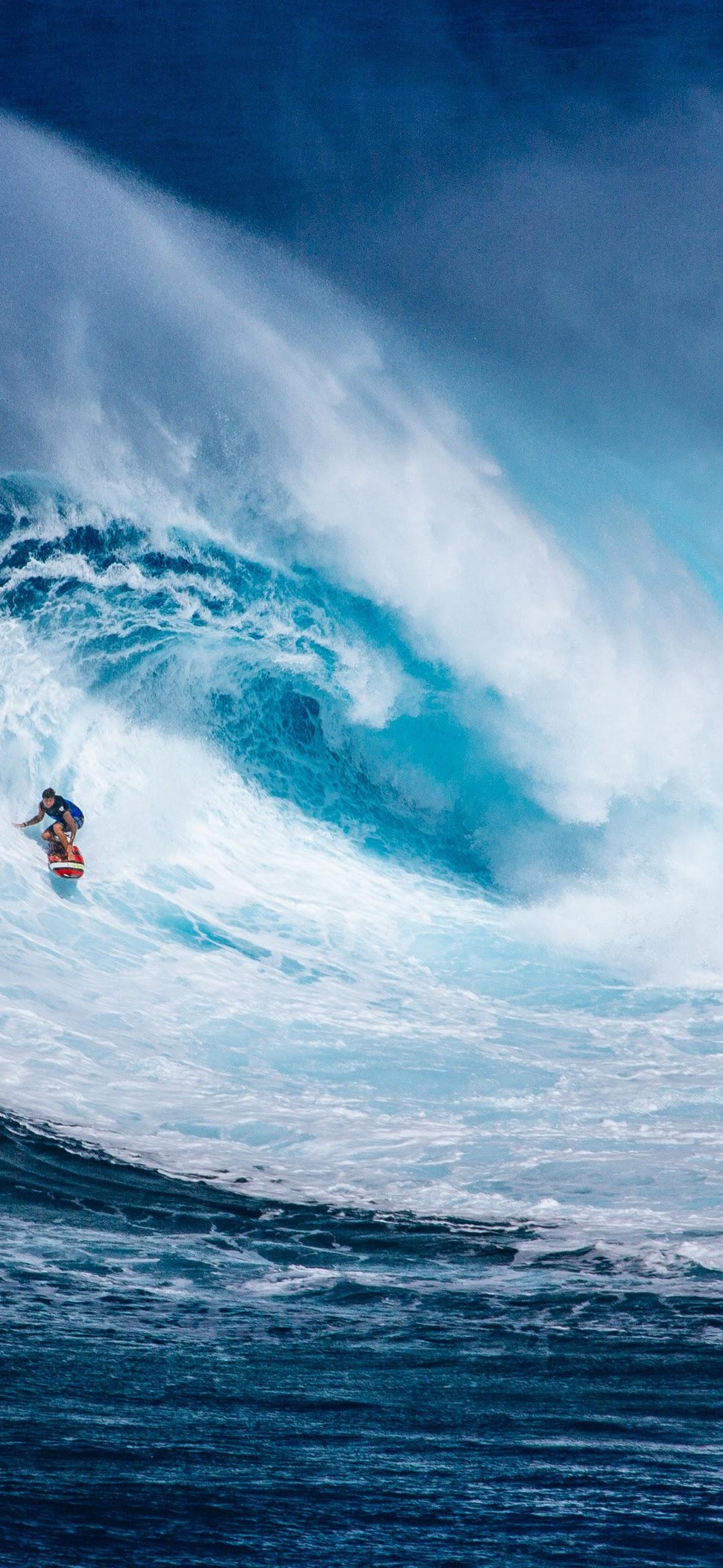 Surfing Ocean Waves Nature Scenery 4k Wallpaper 180