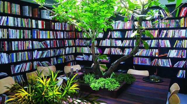 Không gian đọc sách Núi Trúc Square