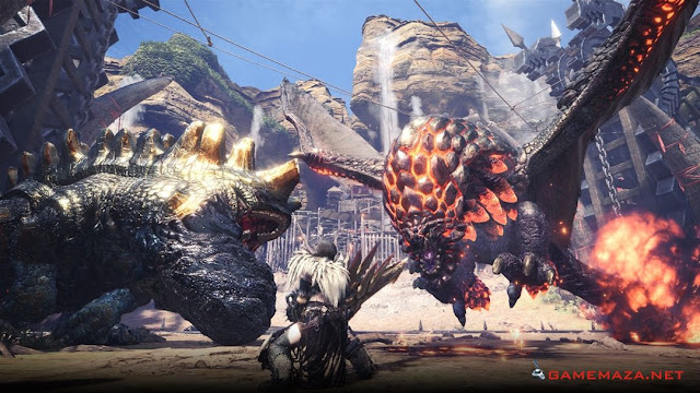 Monster Hunter World Gameplay Screenshot 4