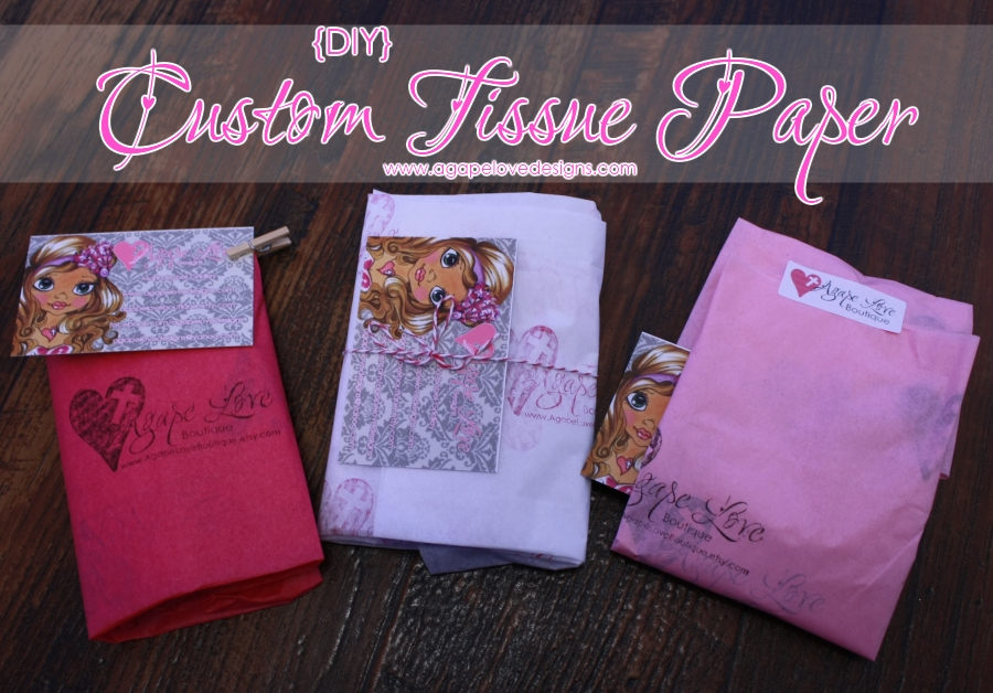 Agape Love Designs Diy Custom Tissue