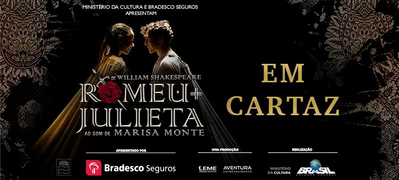 TEATRO: ROMEU E JULIETA - Ao som de Marisa Monte