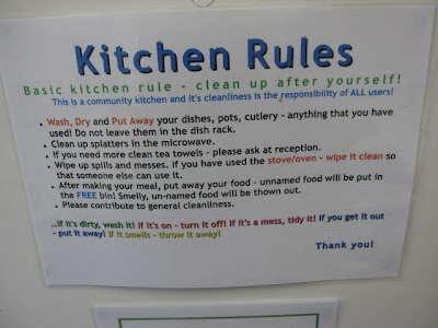 Toilet Kitchen Door Regulations