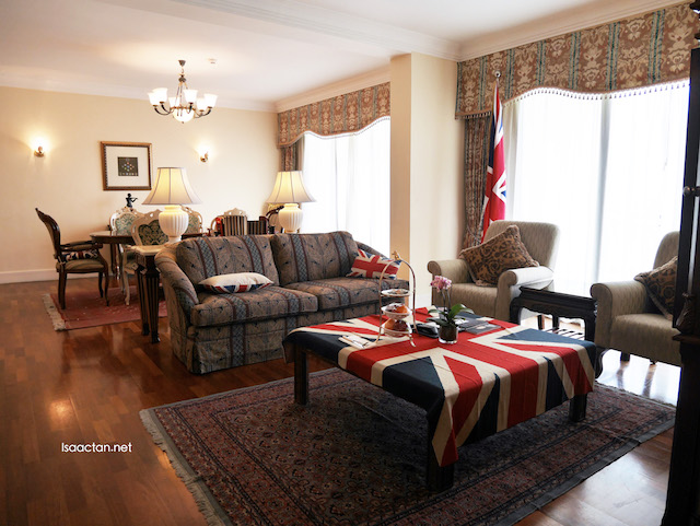 Themed suite: The Queen's Suite