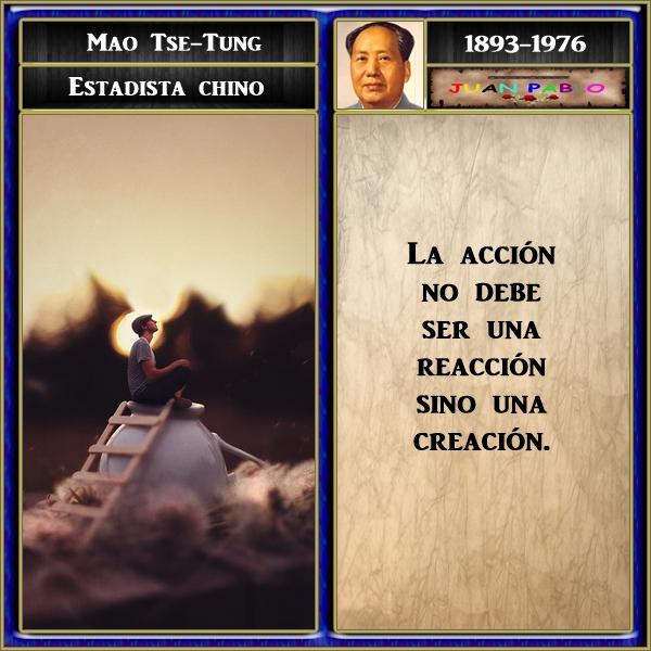 Frases Ilustradas Y Autor Frases Ilustradas Mao Tse Tung