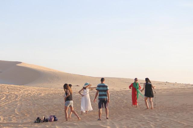 white dunes di mui ne