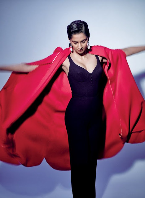 Sonam Kapoor Stunning photoshoot for Elle Magazine
