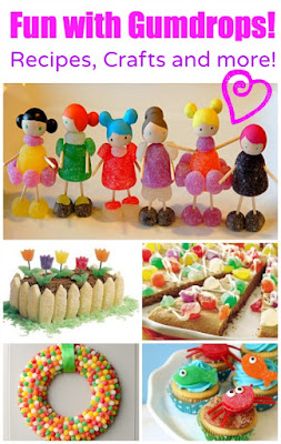 http://www.dailyholidayblog.com/2014/02/fun-gumdrops-recipes-crafts/