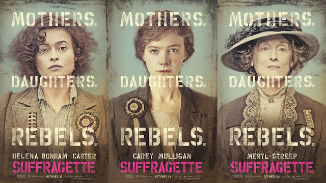 Cartelería oficial Suffragetes