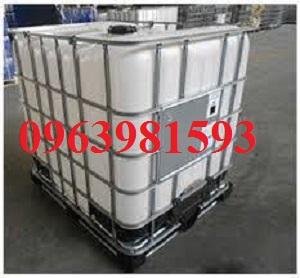 Bồn chứa 1000l, dụng cụ chứa hóa chất, tank IBC giá rẻ